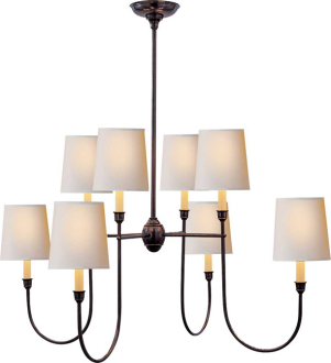 Get the look with the Thomas O'Brien Vendome Chandelier ($567).