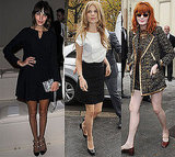 Alexa Chung, Clemence Poesy, Olivia Palermo at 2011 Paris Spring Fashion Week