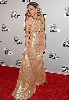 Pictures of Sarah Jessica Parker at NYC Ballet Fall Gala