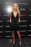 I love it when I see a unique take on the LBD, and Naomi Watts delivered that in this Giorgio Armani number.