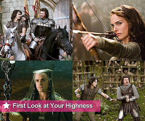 First Look at James Franco, Zooey Deschanel, Danny McBride, Natalie Portman in Your Highness