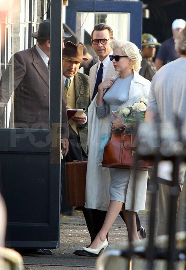 Pictures of Michelle Williams as Marilyn Monroe