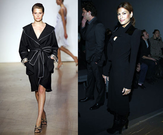 Double Take! Fab Face Cameron Russell Looks so Much Like Eva Mendes