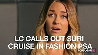 Video of Lauren Conrad Speaking in Fashion PSA 2010-10-08 10:01:42