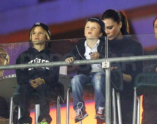 Pictures of Posh, Becks, and Kids