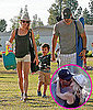 Pictures of LeAnn Rimes and Eddie Cibrian Kissing at Kid's Soccer Game