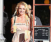 Slide Picture of Britney Spears in a Sundress