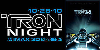 Free Tron Night Tickets