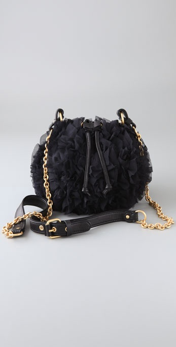 Juicy Couture Pouchette Chiffon Bag ($178)