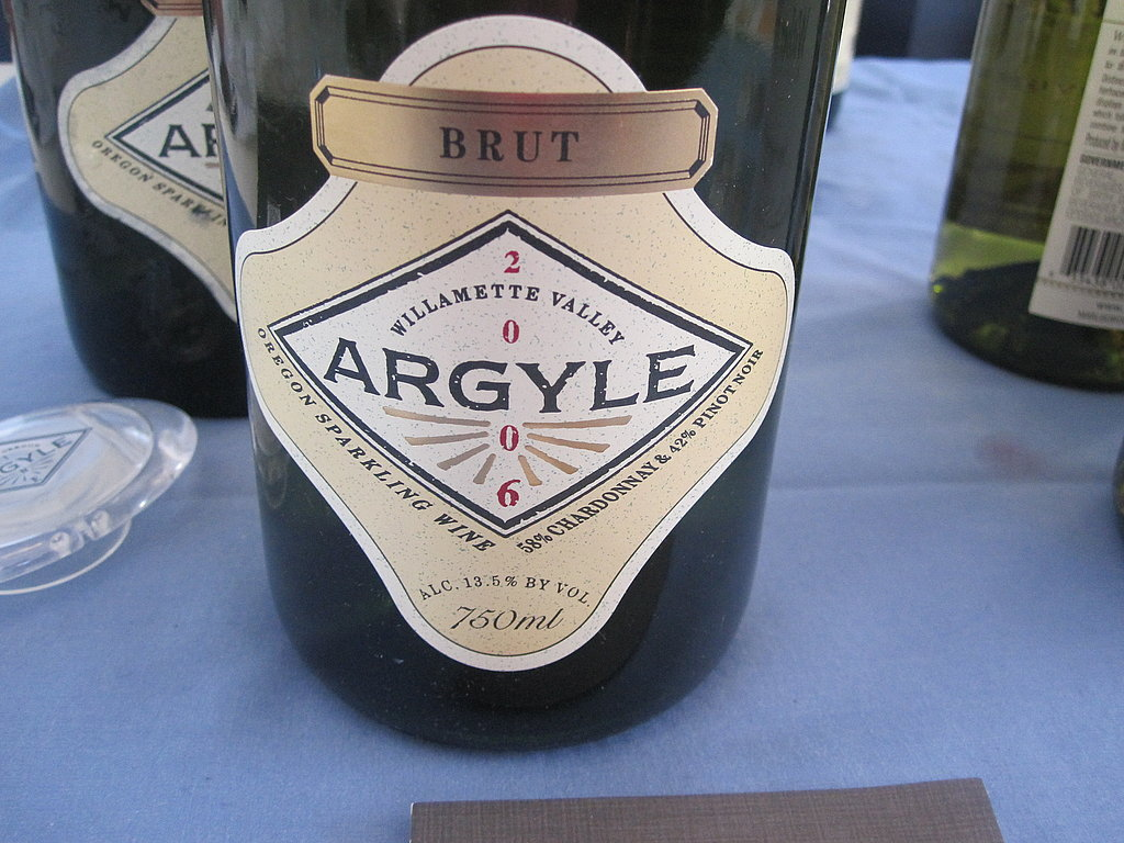 Another out-of-this-world sparkler was from the Willamette Valley in Oregon. Argyle was well-balanced with apple aromas and lovely effervescence.