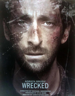Movie Trailer For Wrecked Starring Adrien Brody