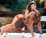 Kim Kardashian playfully posed with her then-boyfriend Reggie Bush for their sexy March 2009 GQ spread.