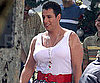 Slide Picture of Adam Sandler Dressed in Drag