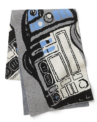 R2-D2 Cashmere Blend Scarf ($165)