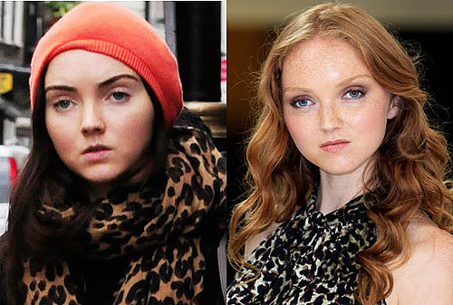 Lily Cole Brown Hair