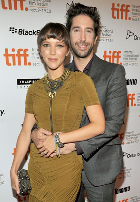 David Schwimmer secretly married Zoe Buckman in June