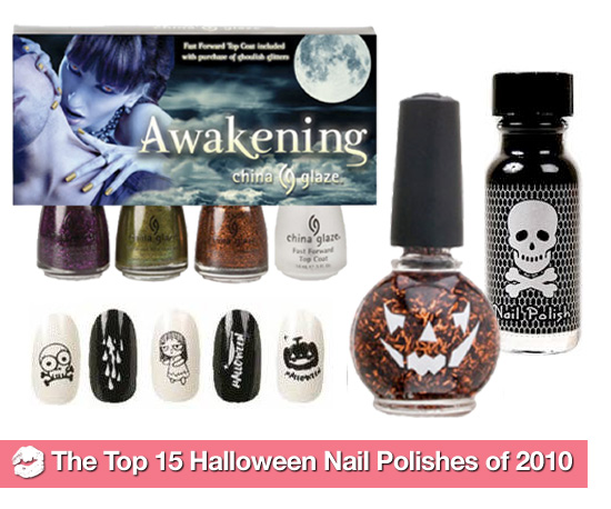 A Ghoulish Guide to the Top 15 Halloween Nail Polishes of 2010