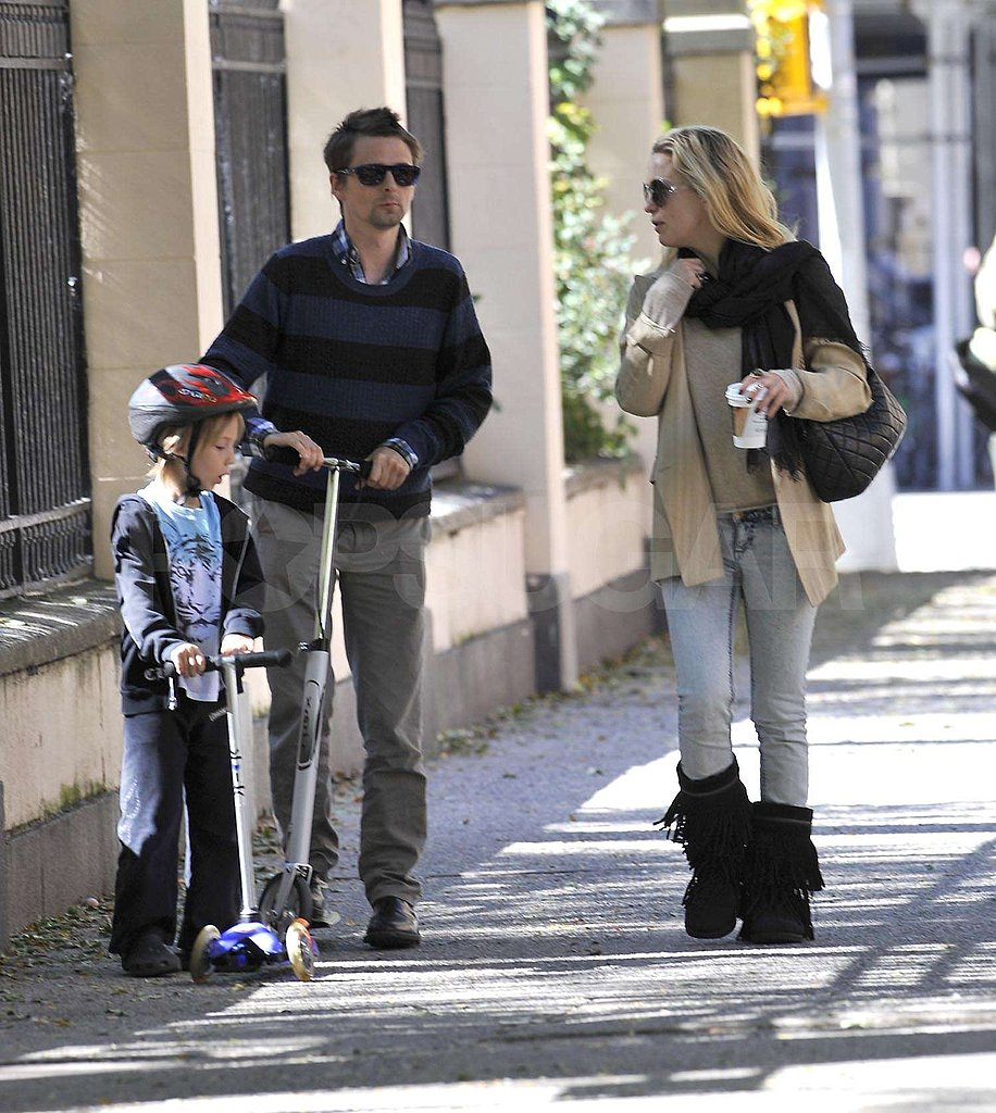 Pictures of Kate Hudson, Ryder, and Matthew Bellamy