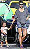 Pictures of Halle Berry and Nahla Aubry Making a Grocery Store Pit Stop in LA