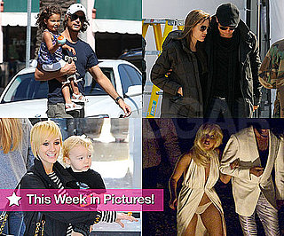 Pictures of Ashlee Simpson Short Hair, Brad and Angelina on Set, Lady Gaga in Underwear and More!