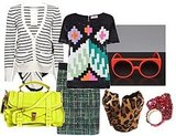Mix Those Prints: Funky Fluoro