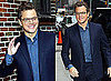 Matt Damon Arriving at The Late Show