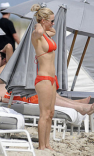 Jenny McCarthy Bikini Pictures in Miami With Boyfriend Jason Toohey