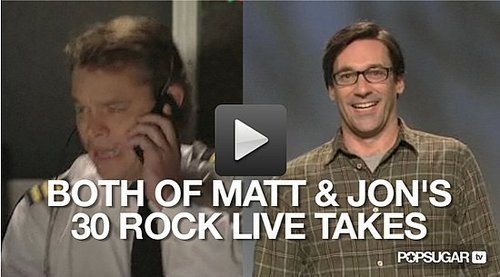 Two versions of the 30 Rock live episode airs in the US on the East coast and West Coast