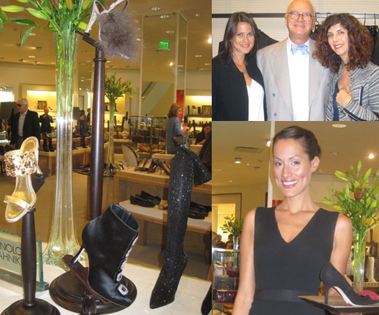 Fab met Manolo Blahnik last week! Get his shoe picks for college grads, tall, and newly single gals!