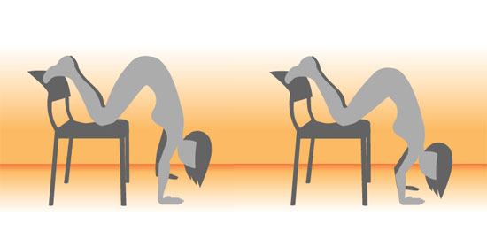 Chair Push-Ups