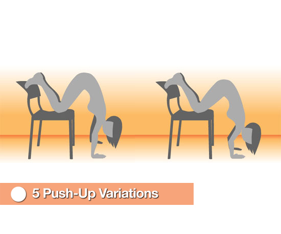 Rise Up to the Challenge: 5 Push-Up Variations