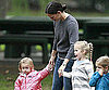 Slide Picture of Jennifer Garner With Violet and Seraphina at LA Park
