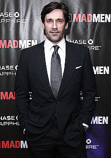 Pictures of Jon Hamm and His Mad Men Women at the Finale Party in NYC