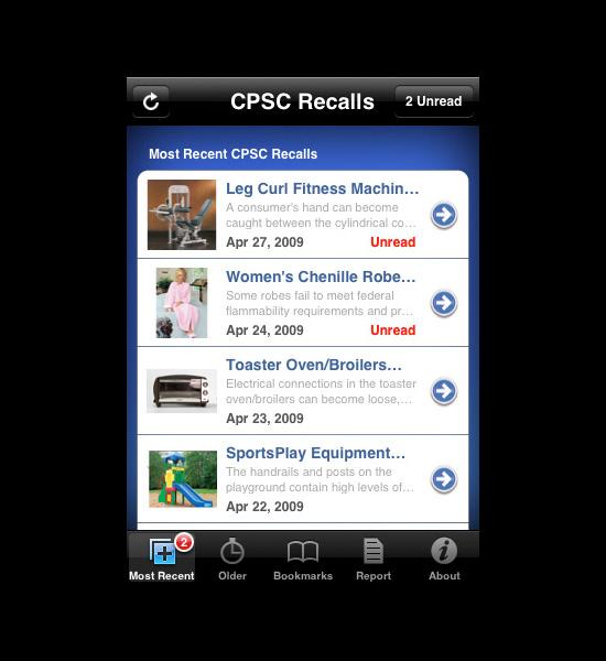 CPSC Recalls