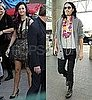 Pictures of Katy Perry on The X Factor With Russell Brand Before Wedding in India This Weekend