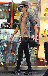 Pictures of Scarlett Johansson Shopping in Spain