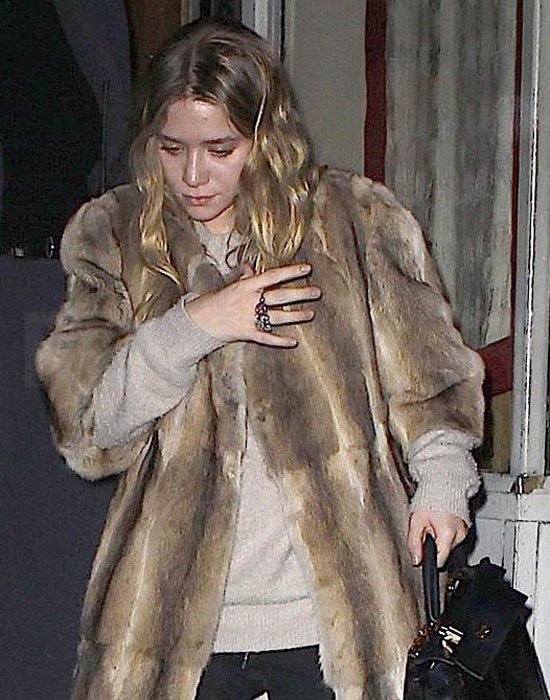 Pictures of Ashley Olsen and Justin Bartha Out Together in NYC