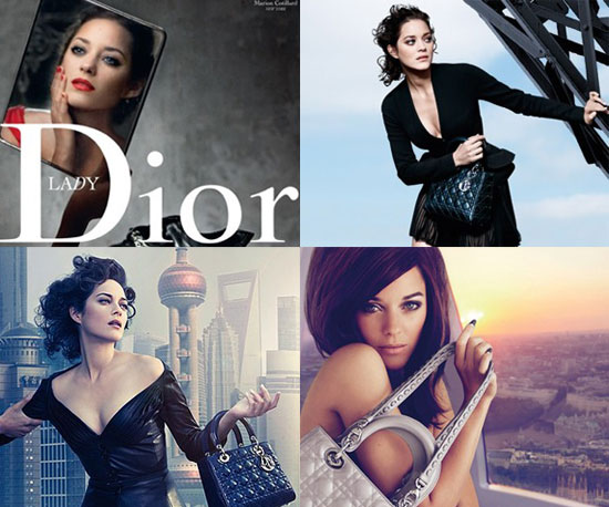 Marion Cotillard in Dior Cruise London Ad