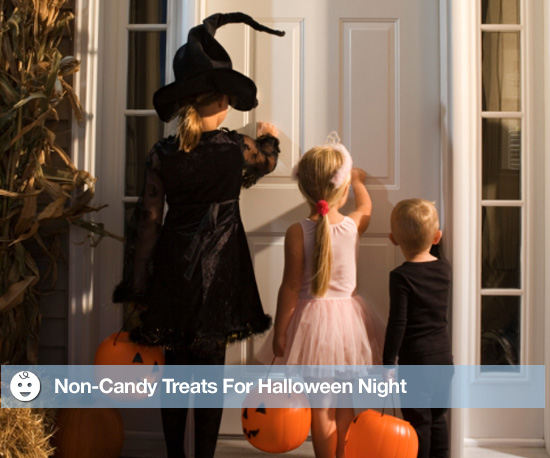 Non-Candy Treats For Halloween Night