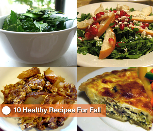 Recipes With Fall Ingredients