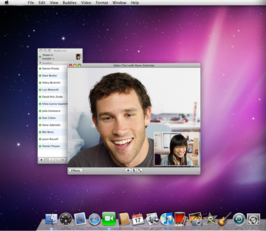 FaceTime on Mac
