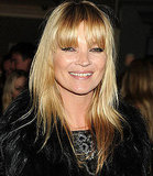 Kate Moss Cuts Fringe