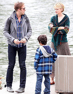 Pictures of Ryan Gosling and Carey Mulligan Filming Drive