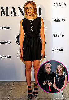 Pictures of Scarlett Johansson at the Mango Fashion Awards 2010-10-21 08:45:00