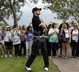 Pictures of Justin Timberlake Playing Golf