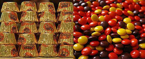 Would You Rather Eat Reese's Peanut Butter Cups or Reese's Pieces?