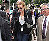 Slide Picture of Lindsay Lohan at Court in LA