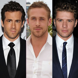 How Well Do You Know Your Ryans — Gosling, Phillippe, and Reynolds 2010-10-30 09:58:38