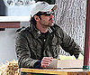 Slide Picture of Patrick Dempsey Eating in Malibu