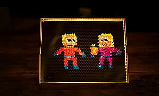 "Lite Brite in David Crowder Band's ""SMS (Shine)"" Video"